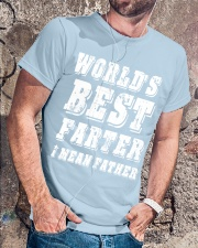 WORLD'S BEST FARTER Classic T-Shirt lifestyle-mens-crewneck-front-4