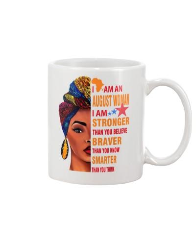 I AM AN AUGUST WOMAN