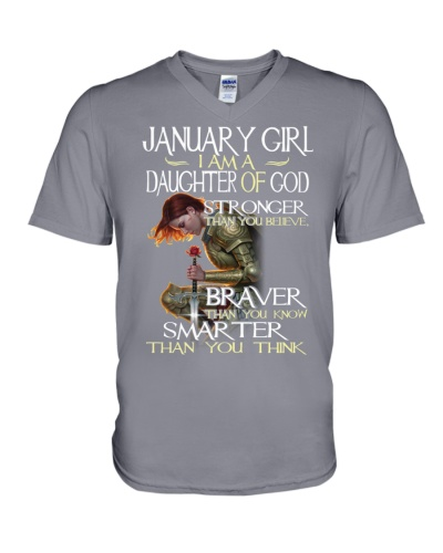 JANUARY GIRL - I AM A DAUGHTER OF GOD
