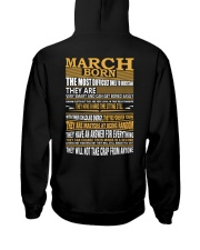 MARCH BORN Hooded Sweatshirt thumbnail