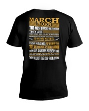 MARCH BORN V-Neck T-Shirt thumbnail