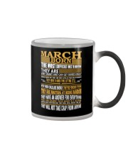 MARCH BORN Color Changing Mug thumbnail
