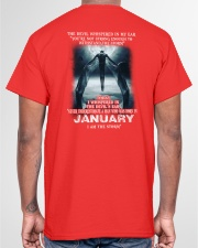 DEVIL WHISPERED - JANUARY Classic T-Shirt garment-tshirt-unisex-back-04