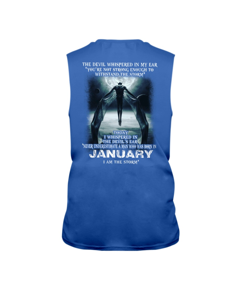 DEVIL WHISPERED - JANUARY Sleeveless Tee