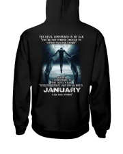DEVIL WHISPERED - JANUARY Hooded Sweatshirt thumbnail