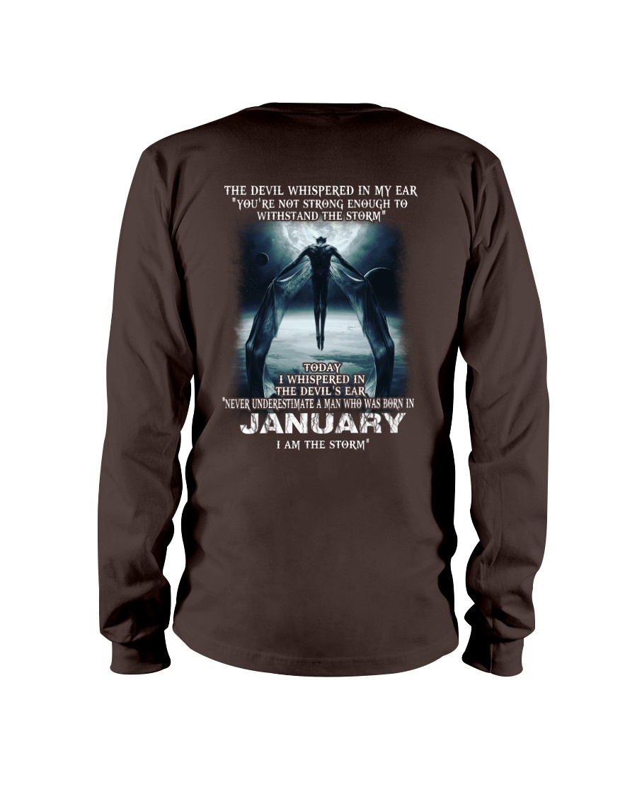 DEVIL WHISPERED - JANUARY Long Sleeve Tee