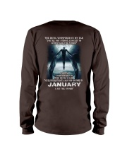 DEVIL WHISPERED - JANUARY Long Sleeve Tee back