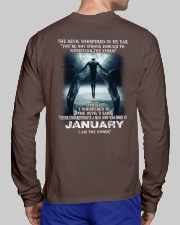 DEVIL WHISPERED - JANUARY Long Sleeve Tee lifestyle-unisex-longsleeve-back-1