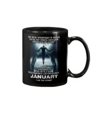 DEVIL WHISPERED - JANUARY Mug tile