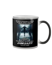 DEVIL WHISPERED - JANUARY Color Changing Mug tile