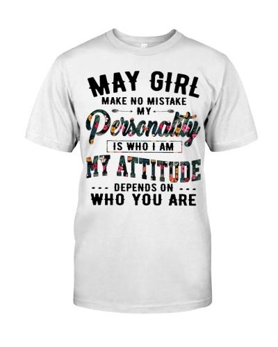 MAY GIRL MAKE NO MISTAKE