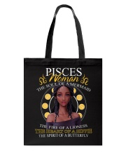 PISCES WOMAN - THE SOUL OF A MERMAID Tote Bag thumbnail