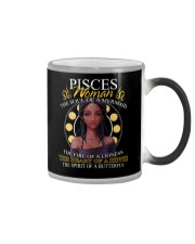 PISCES WOMAN - THE SOUL OF A MERMAID Color Changing Mug thumbnail