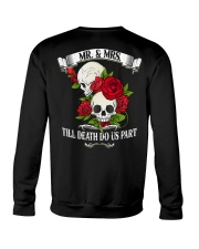 MR AND MRS TILL DEATH DO US PATH Crewneck Sweatshirt thumbnail