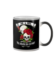 MR AND MRS TILL DEATH DO US PATH Color Changing Mug thumbnail