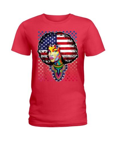 BLACK WOMAN FLAG - AFRICAN AMERICAN