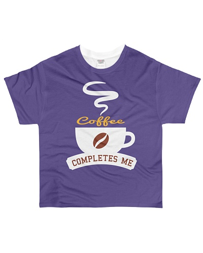 Coffee Completes Me Camping Coffee