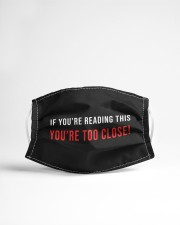 If you are reading this - you are too close Cloth face mask aos-face-mask-lifestyle-22
