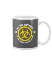 My 1st Birthday-Quarantined Mug tile