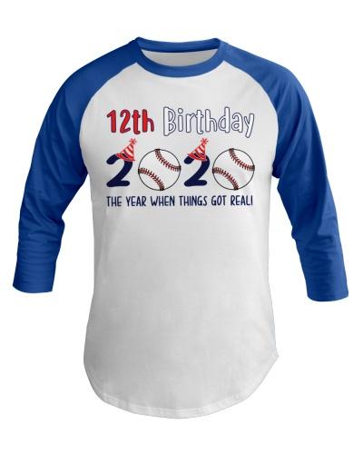 12th birthday baseball