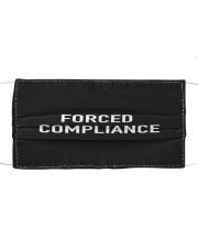 Forced Compliance Cloth face mask front