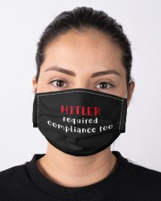 Hitler required compliance too Cloth face mask aos-face-mask-lifestyle-01