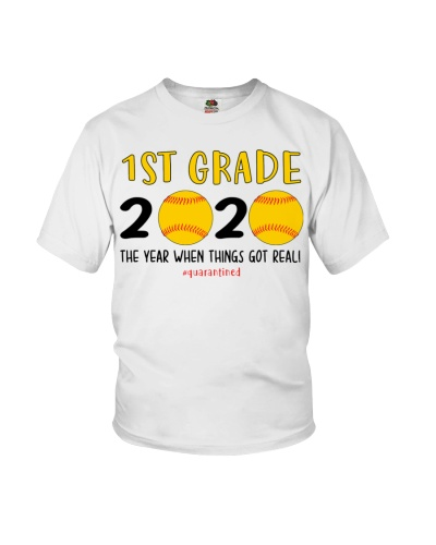 1st grade softball 2020 quarantine