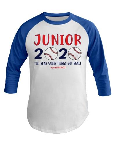 JUNIOR baseball 2020 quarantine