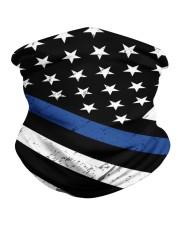 Police flag - mask3 Neck Gaiter tile