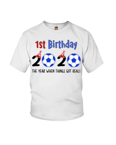 1st birthday soccer