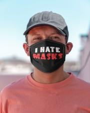 I HATE MASKS Cloth face mask aos-face-mask-lifestyle-06