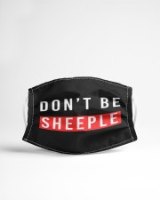 Don't Be Sheeple Cloth face mask aos-face-mask-lifestyle-22