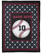 Personalized Baseball Fleece Blanket tile