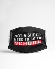 Not a sheep - need to go to school Cloth face mask aos-face-mask-lifestyle-22