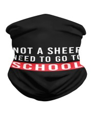 Not a sheep - need to go to school Neck Gaiter thumbnail