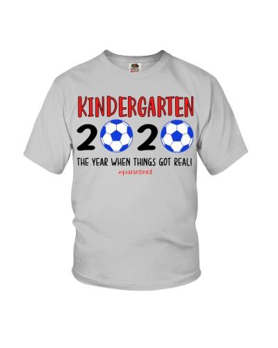 Kindergarten grade soccer 2020 quarantine