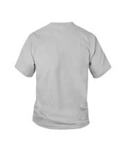 4th grade-history-green blue Youth T-Shirt back