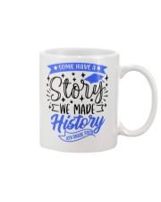 4th grade-history-green blue Mug tile