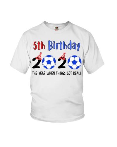 5th birthday soccer
