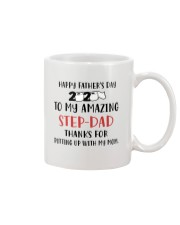 amazing step dad fathers day 2020 putting up Mug front