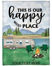"Personalized Camping Blanket 2 Large Fleece Blanket - 60"" x 80"" thumbnail"