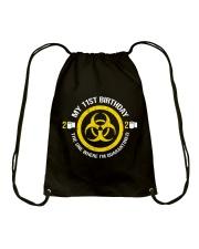 My 11st Birthday - Quarantined Drawstring Bag thumbnail