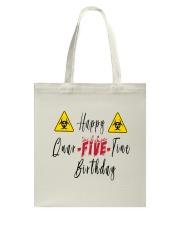 Happy Quar-Five-Tine Birthday Tote Bag thumbnail