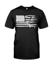 2AF gun american flag Classic T-Shirt thumbnail