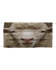 sheep face mask Cloth face mask front