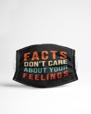 Funny Facts Don't Care About Your Feelings Mask Cloth face mask aos-face-mask-lifestyle-22