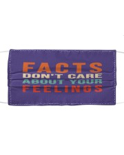 Funny Facts Don't Care About Your Feelings Mask Mask tile