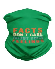 Funny Facts Don't Care About Your Feelings Mask Neck Gaiter thumbnail