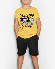 1st grade graduate  Youth T-Shirt lifestyle-youth-tshirt-front-1