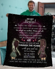 """To my bestie i'd be lost without you Sherpa Fleece Blanket - 50"""" x 60"""" aos-sherpa-fleece-blanket-50x60-lifestyle-front-05"""